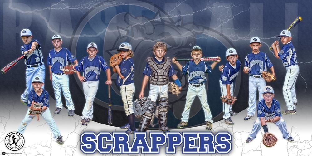 Baseball banners